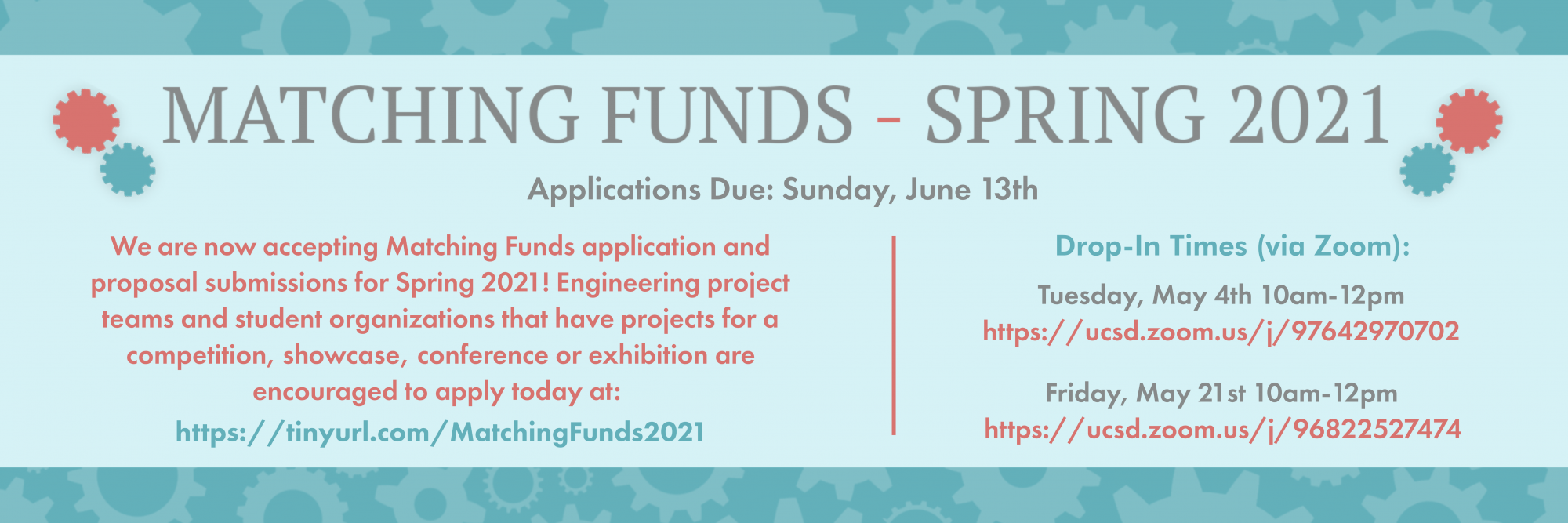 IDEA Spring 2021 Matching Funds